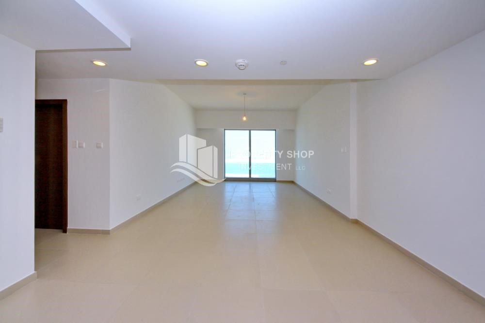 Living Room - Spacious layout, High floor Apt plus Maid's room with sea view.