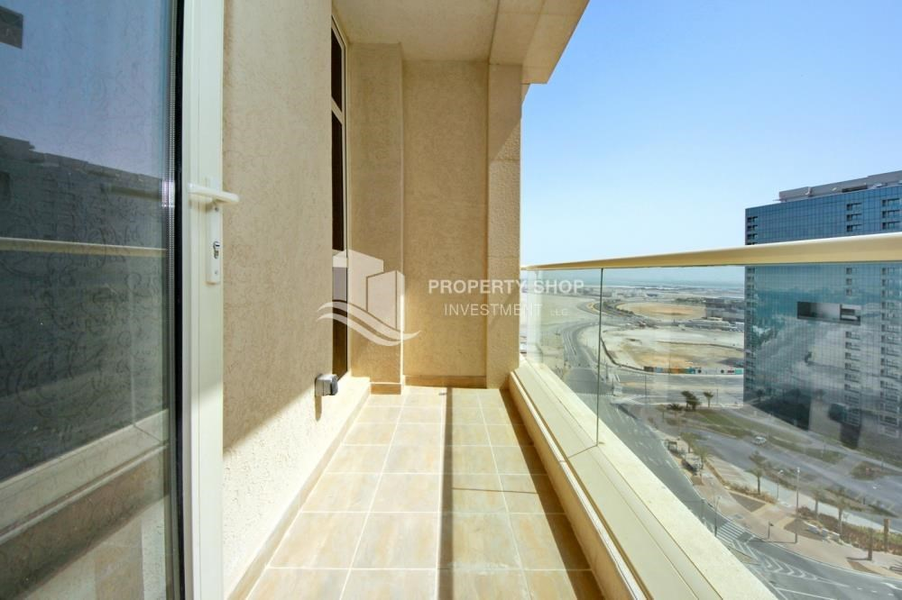 Balcony - 2br, Living in Luxurious Mangrove Place, Al Reem Island