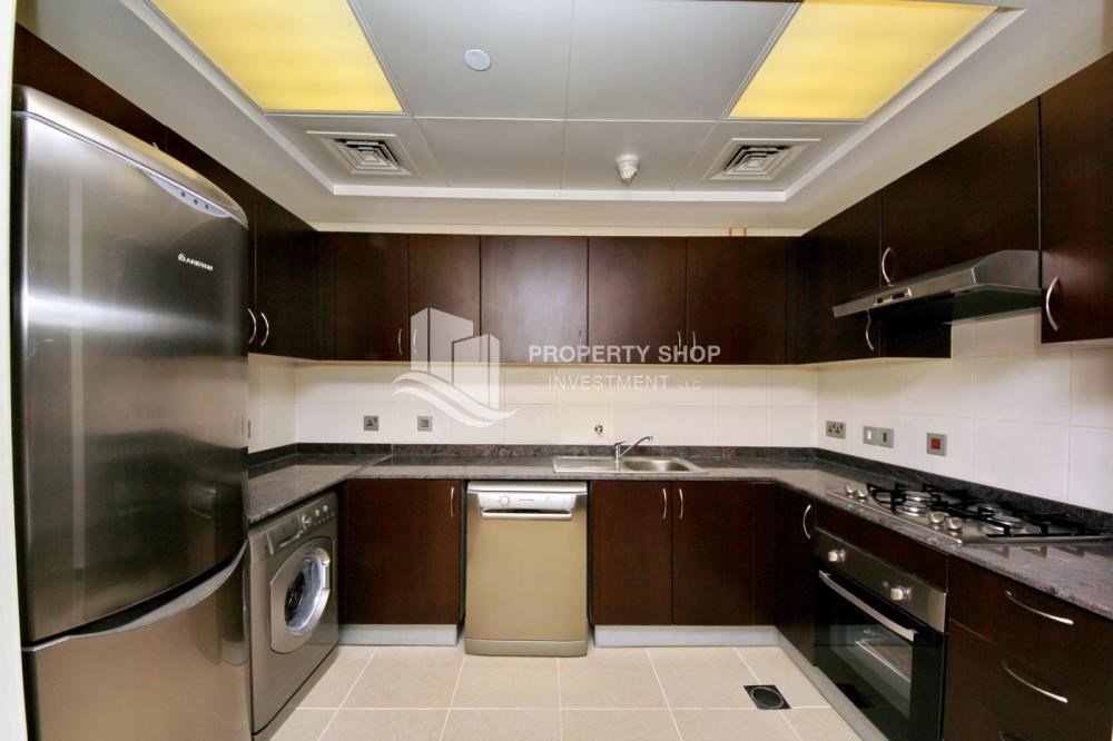 Kitchen - 2br, Living in Luxurious Mangrove Place, Al Reem Island