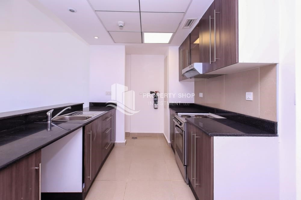 Kitchen - 2 Bedroom Apartment in Al Reef Downtown For RENT by the first week of October!