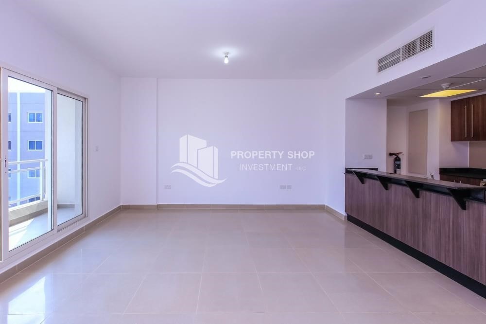 Living Room - 2 Bedroom Apartment in Al Reef Downtown For RENT by the first week of October!