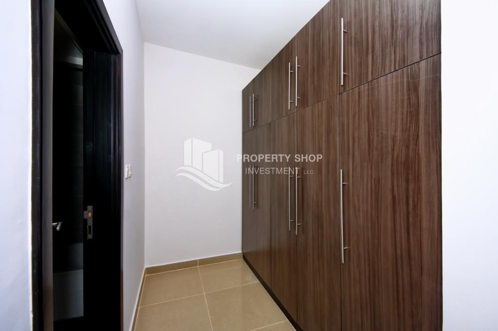 Built in Wardrobe - 2BR Apt with Balcony and Storage, street view, available for rent Now