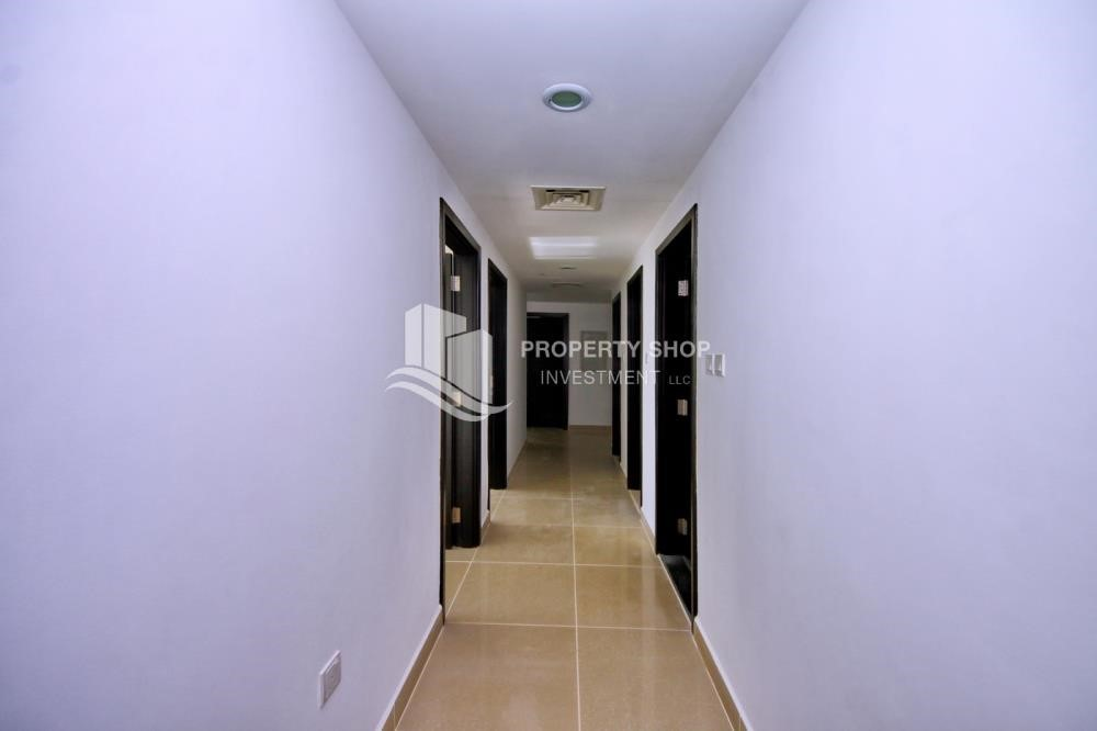 Corridor - 2BR Apt with Balcony and Storage, street view, available for rent Now