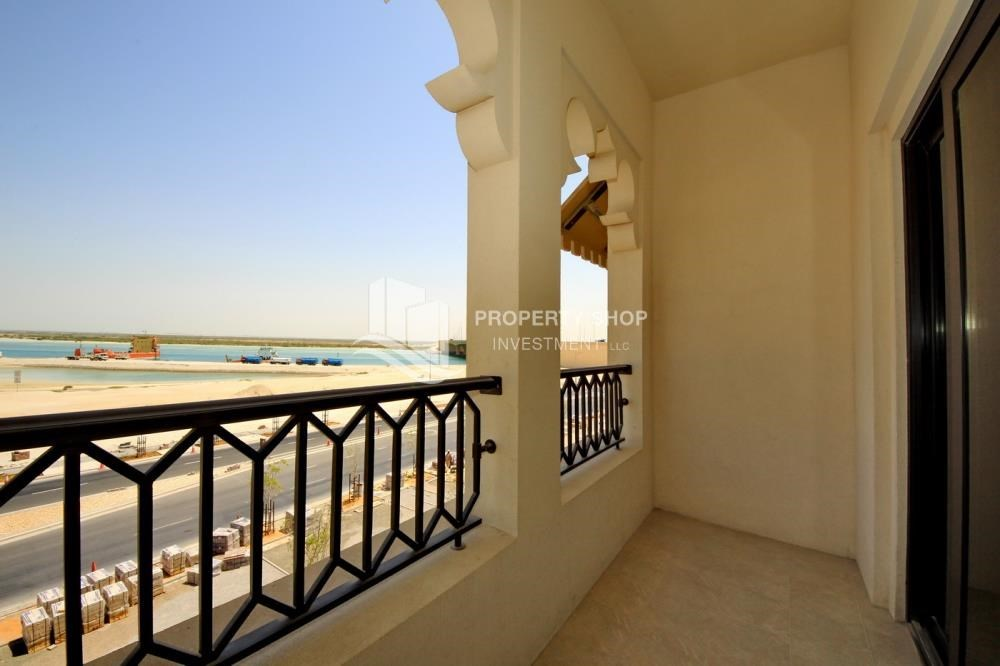 Balcony - 2BR Apt on Low Floor with street view in Saadiyat Island!