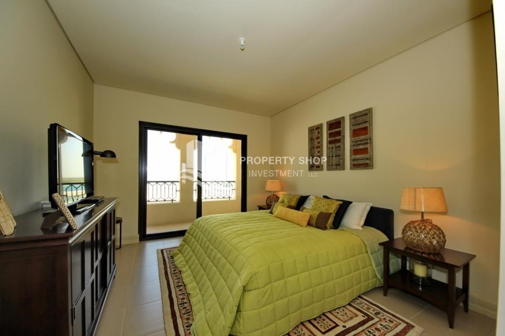 Bedroom - 2BR Apt on Low Floor with street view in Saadiyat Island!