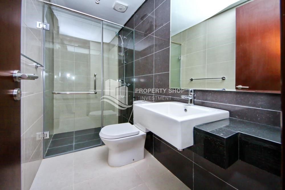 Bathroom - High floor Apt in Al Maha Tower.