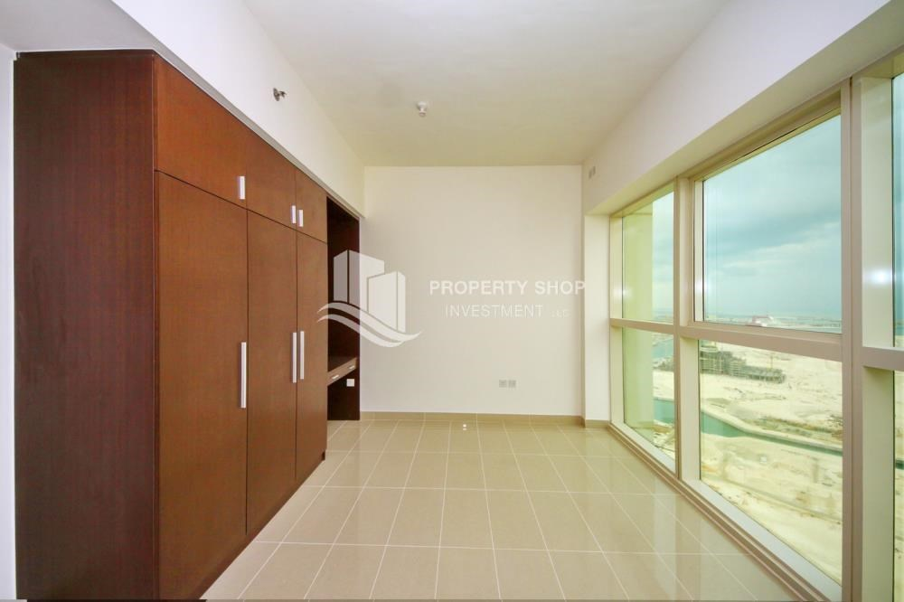 Bedroom - High floor Apt in Al Maha Tower.