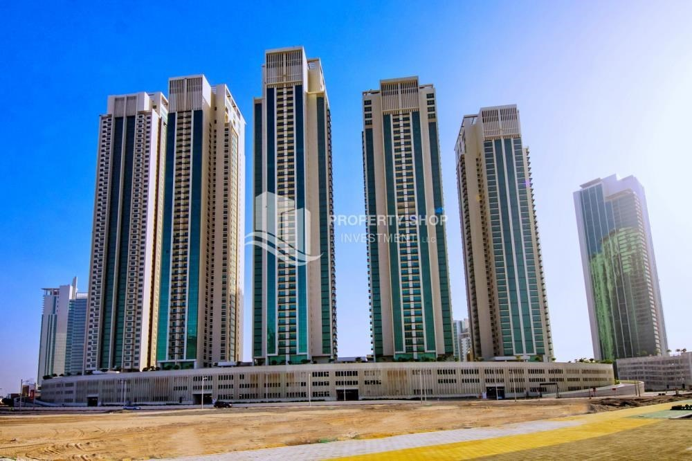 Property - High floor Apt in Al Maha Tower.