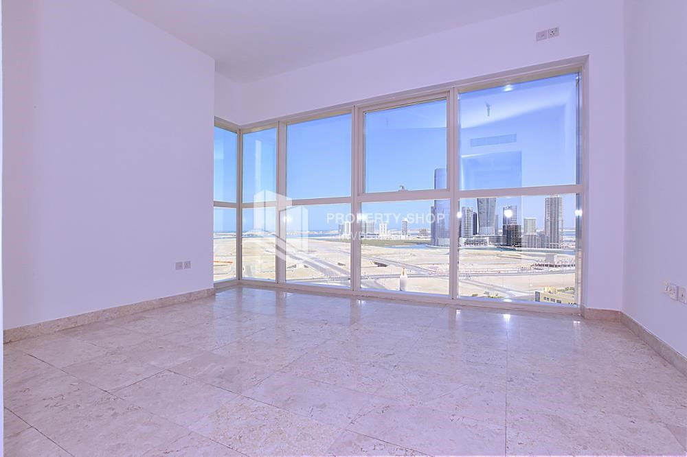 Master Bedroom - Apt with all facilities on High Floor + High ROI.