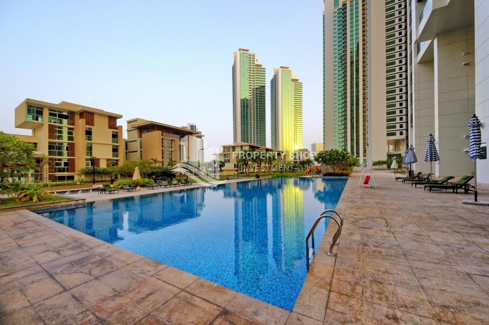 Facilities - Low floor 1BR Apt with Sea view.