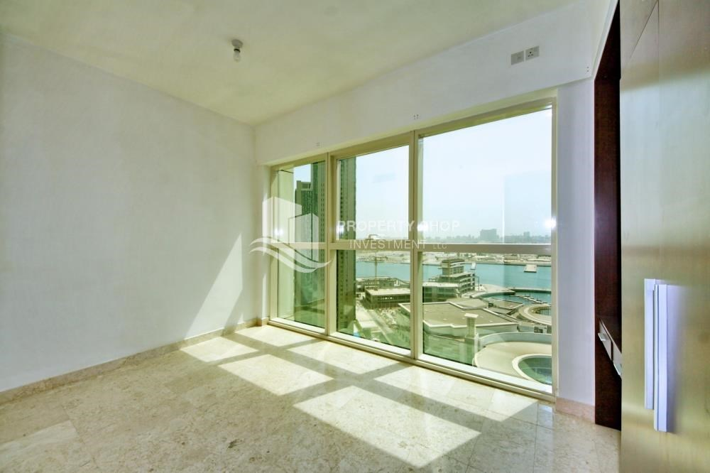 Bedroom - Spacious 1BR Apt in Marina Square with Stunning Views!