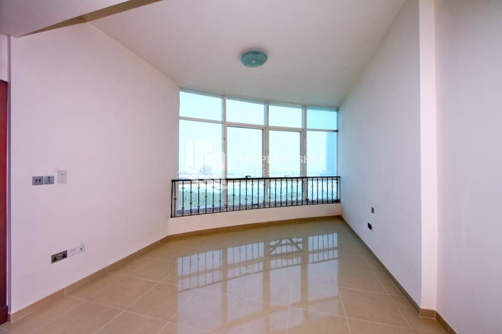 Bedroom - Mid Floor Unit with Sea View + Parking.