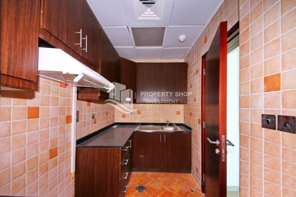 Kitchen - Mid Floor Unit with Sea View + Parking.