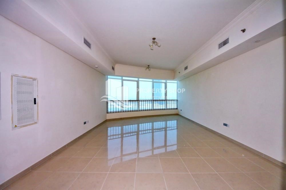 Living Room - Mid Floor Unit with Sea View + Parking.