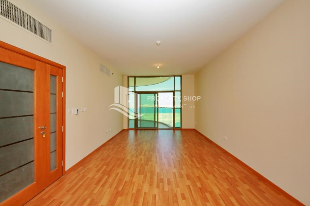 Living Room - Large Apt on high floor with full facilities.