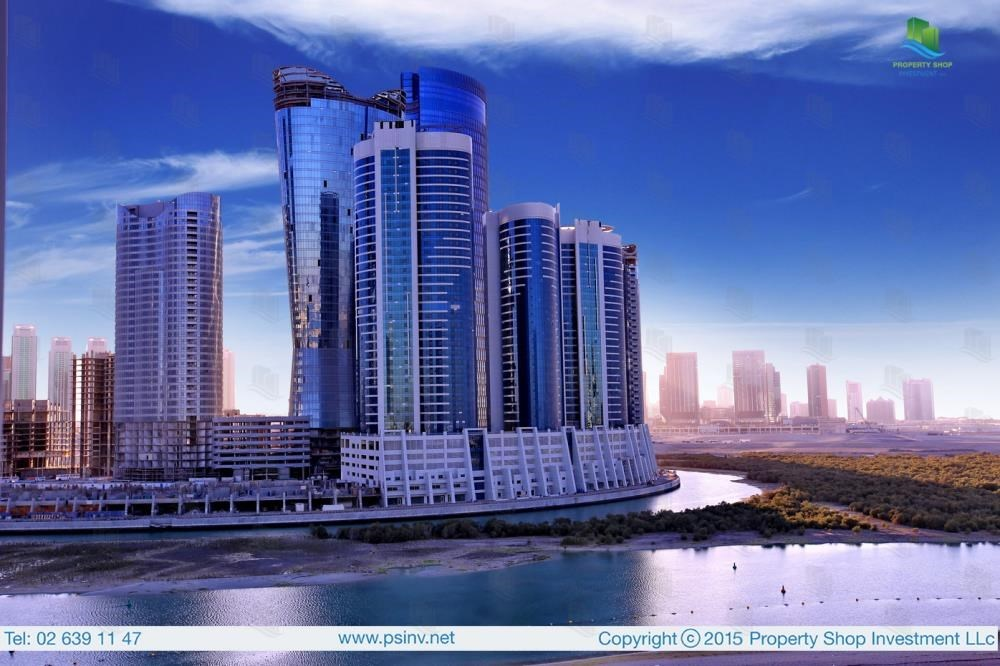 Community - 1BR apartment high floor  with sea view for sale in ALREEM ISLAND!!!