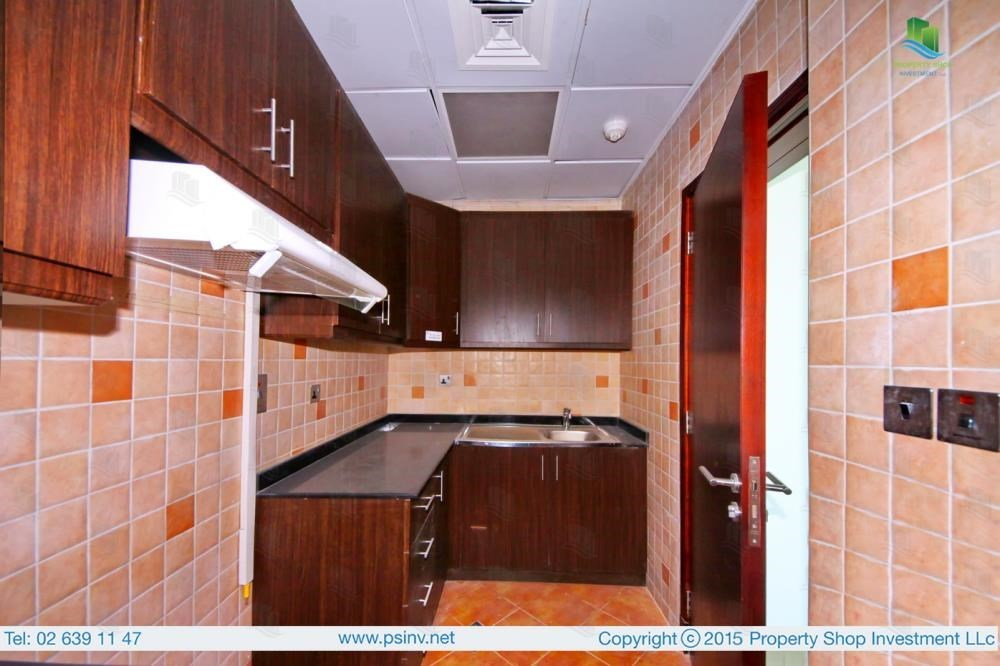 Kitchen - 1BR apartment high floor  with sea view for sale in ALREEM ISLAND!!!