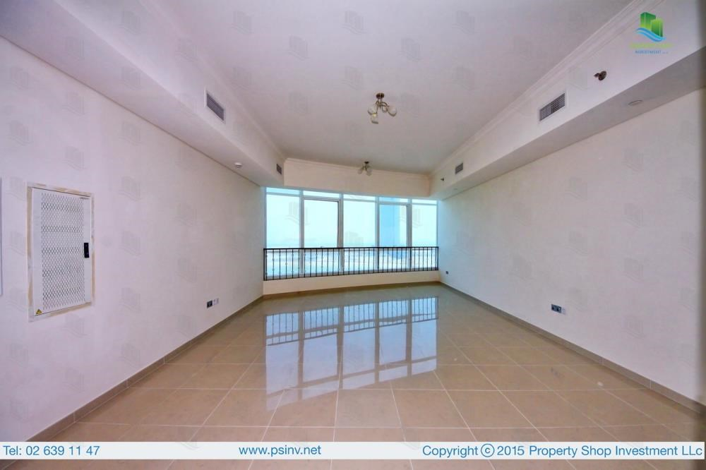 Living Room - 1BR apartment high floor  with sea view for sale in ALREEM ISLAND!!!