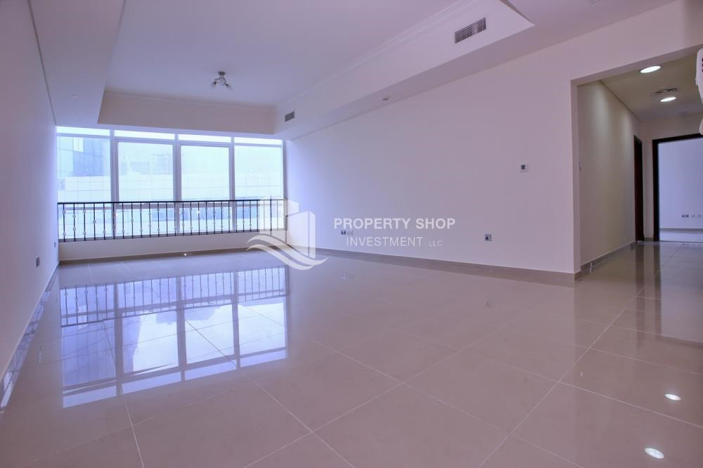 Living Room - Spacious 2BR Apt with High Investment Returns.