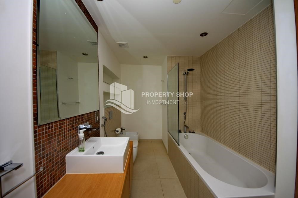 Bathroom -  2 bedrooms with an  amazing view  in al bandar for sale