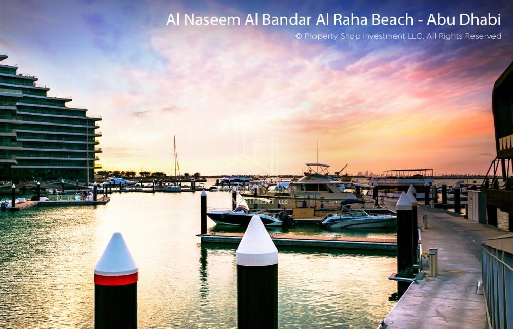 Community -  2 bedrooms with an  amazing view  in al bandar for sale