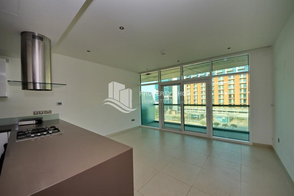 Living Room -  2 bedrooms with an  amazing view  in al bandar for sale