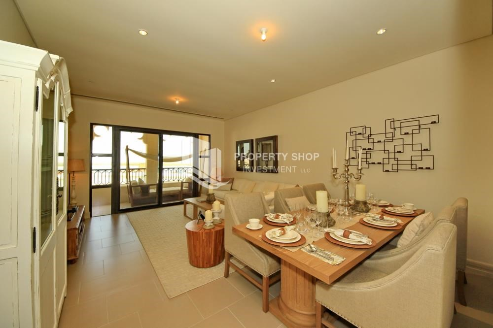 Dining Room - Zero Commission! Stunning 2BR+2 Balcony Apt. Available in Saadiyat Beach Residences!