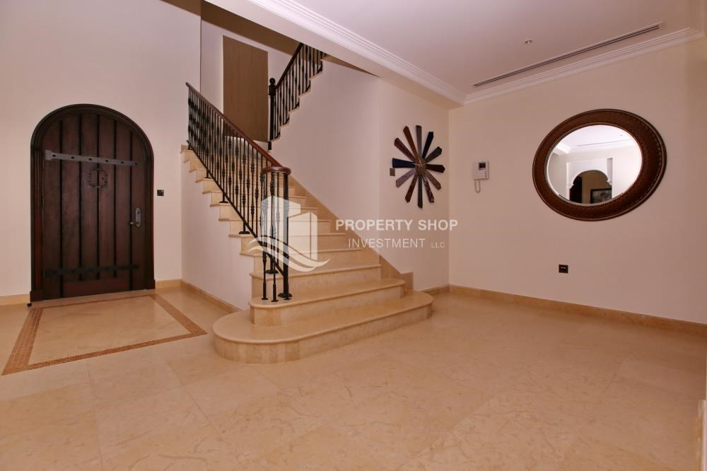 Foyer - Vacant, High End Mediterranean Villa with Family Room