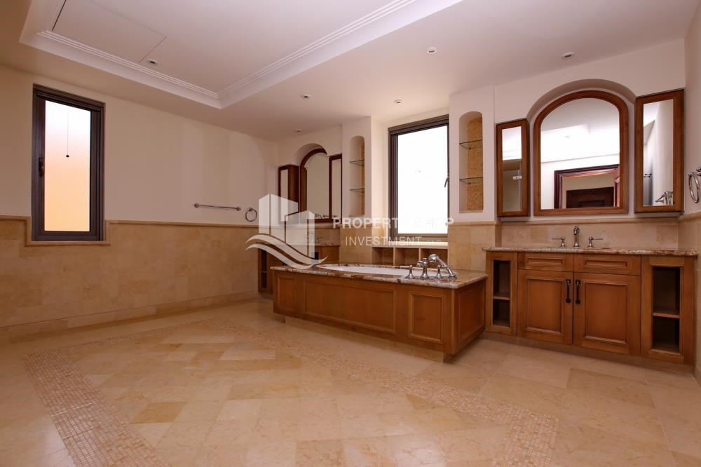 Master Bathroom - Vacant, High End Mediterranean Villa with Family Room