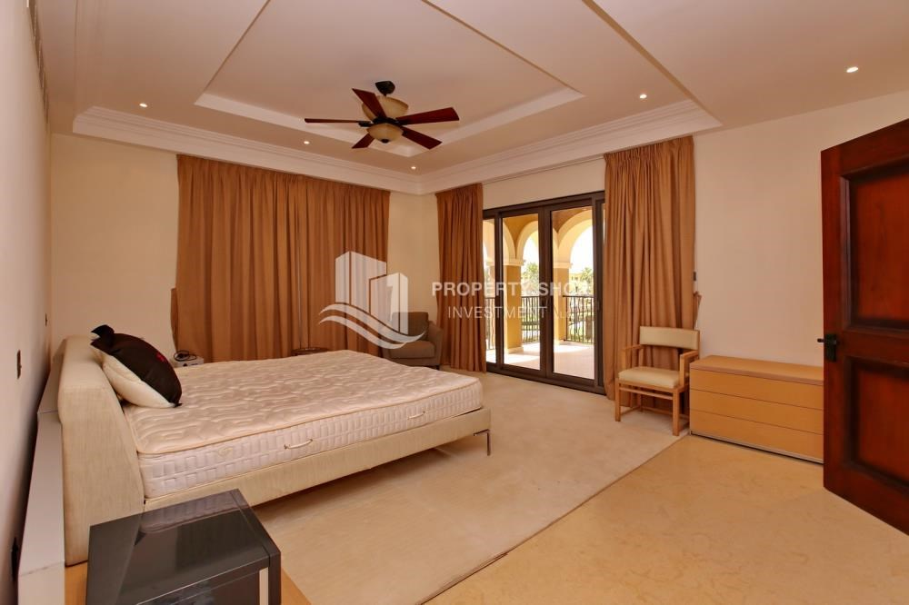 Master Bedroom - Vacant, High End Mediterranean Villa with Family Room