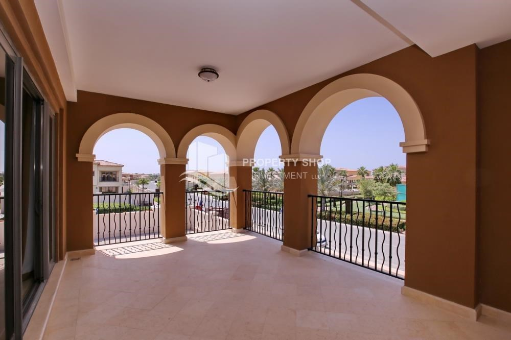 Terrace - Vacant, High End Mediterranean Villa with Family Room