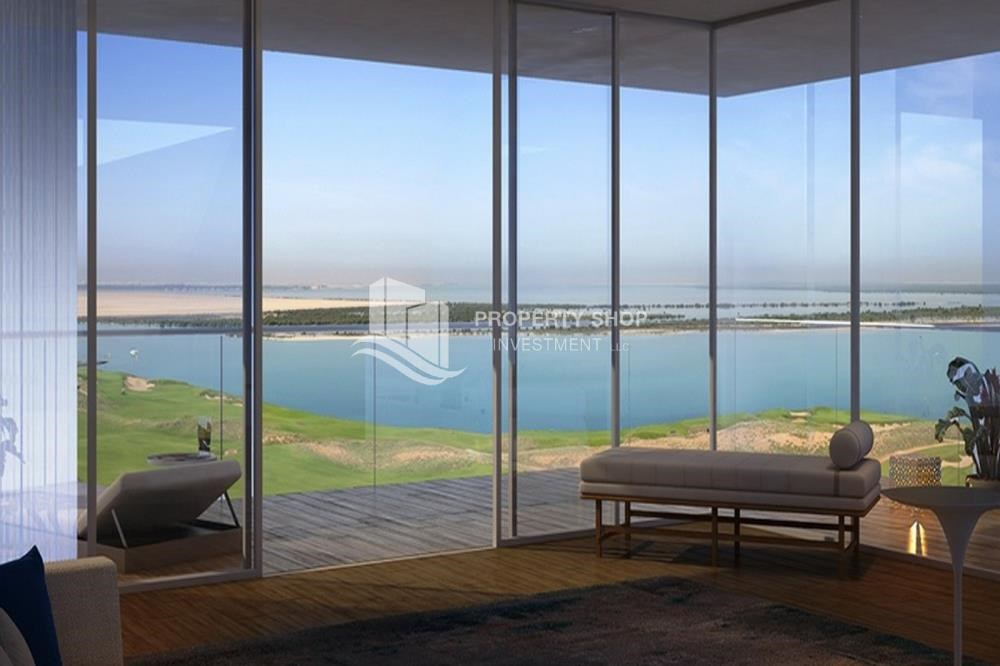 Living Room - Selling at original price full golf and sea view