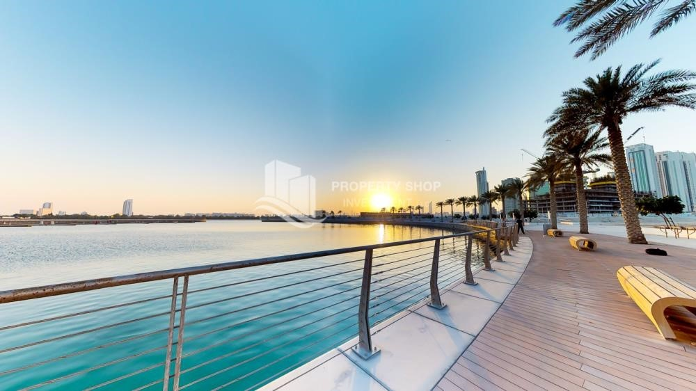Community - 1 bedroom apartment for rent in Najmat Abu Dhabi