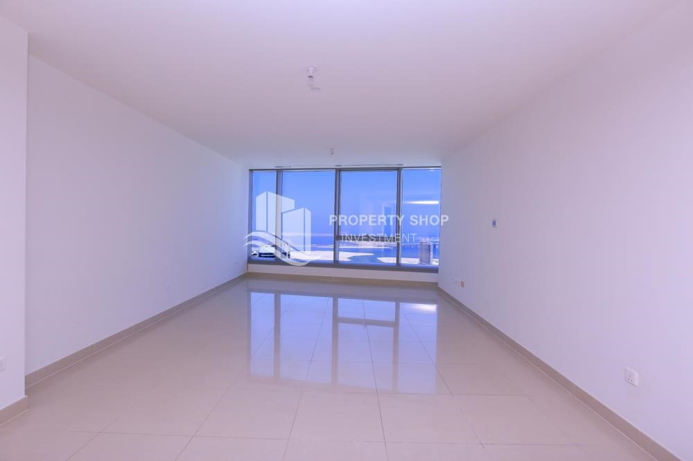 Living Room - 2BR high floor apt  SEA VIEW AVAILABLE for Sale!