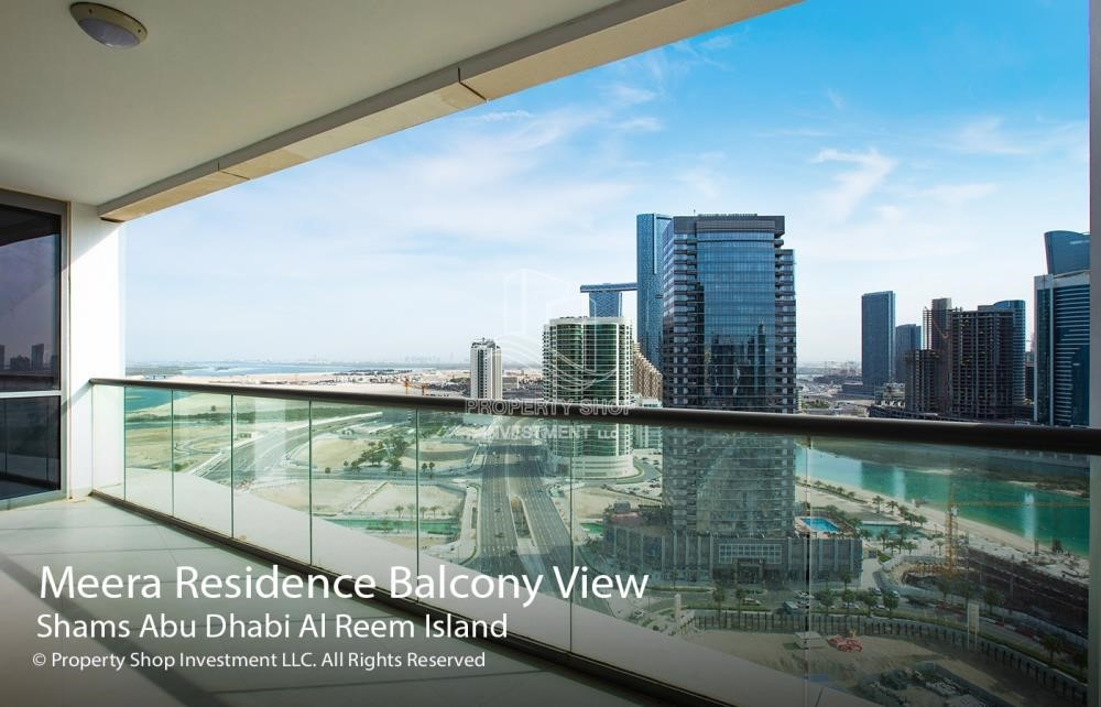 Balcony - 3+1 apartment (corner unit) in Meera Tower available for rent immediately!