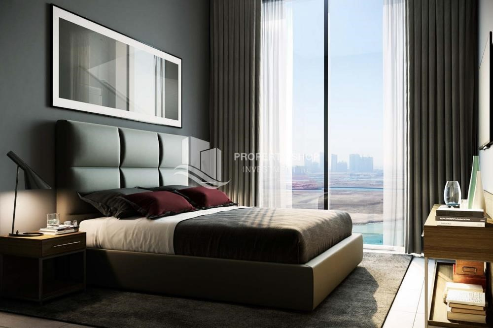 Bedroom - 3BR+M Apt in a brand new tower in Reem Island.