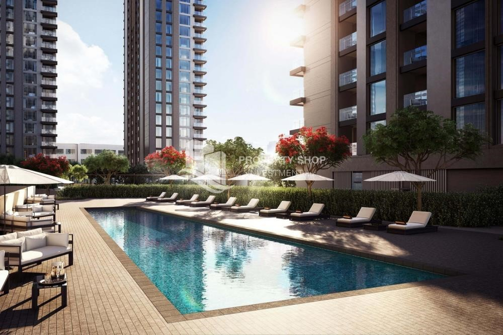Facilities - 3BR+M Apt in a brand new tower in Reem Island.
