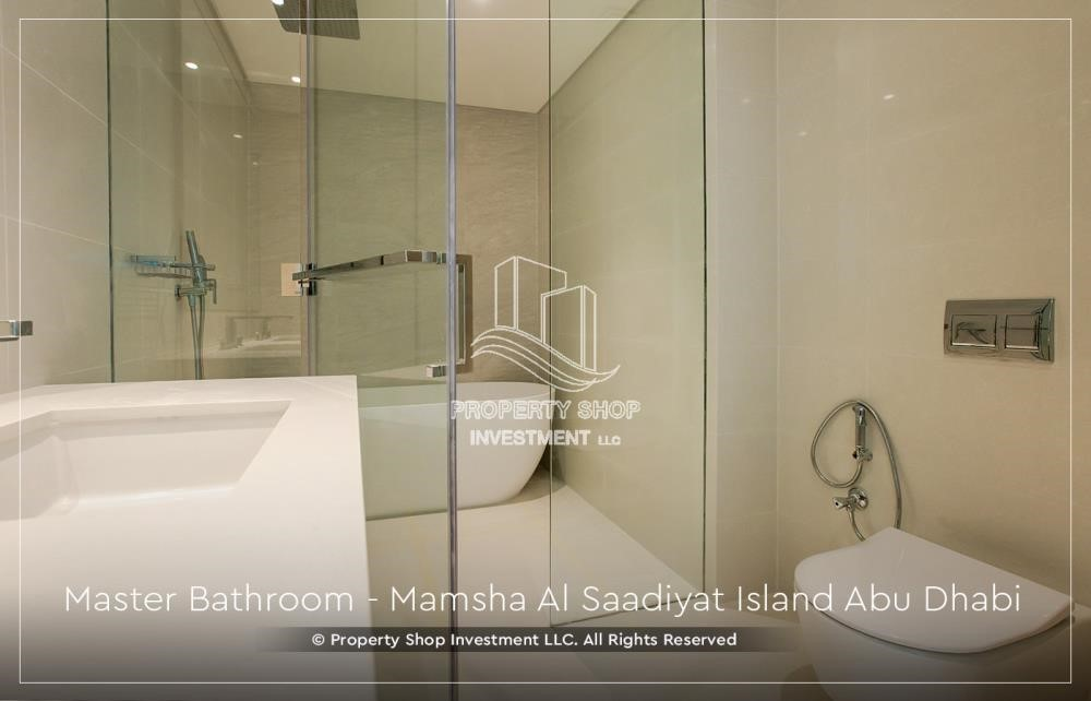 Bathroom - 1BR Apt in a brand new elite community.
