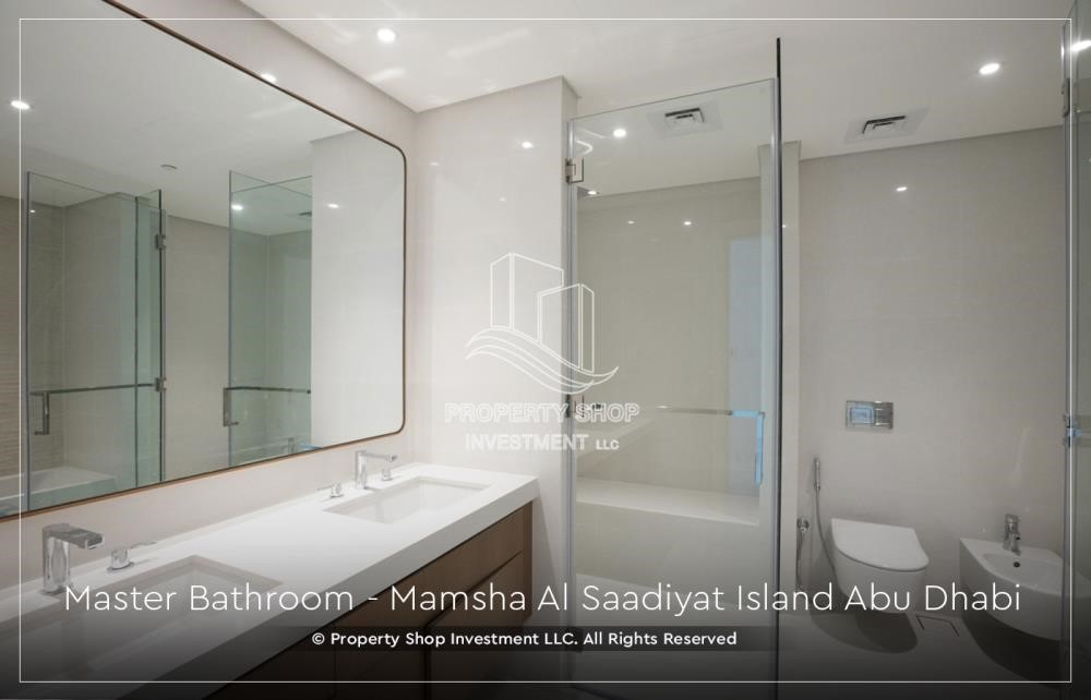 Bathroom - Ready 2bedroom Apt+ maid room with community view.