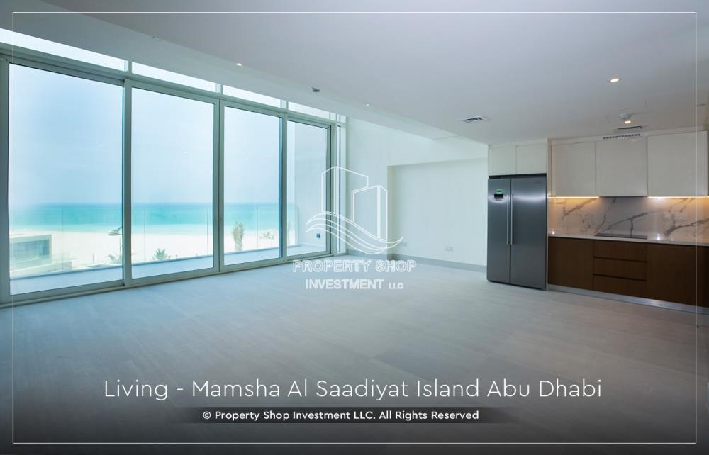 Living Room - 1br loft in a beach front community. book now!