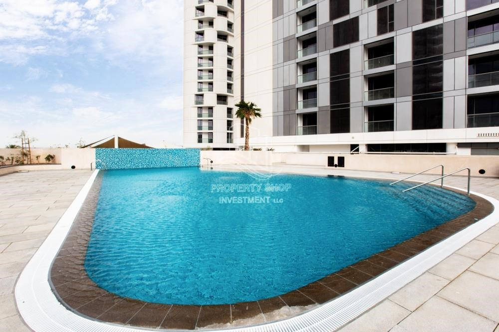 Facilities - 1BR Apt in a brand new tower in Reem Island.