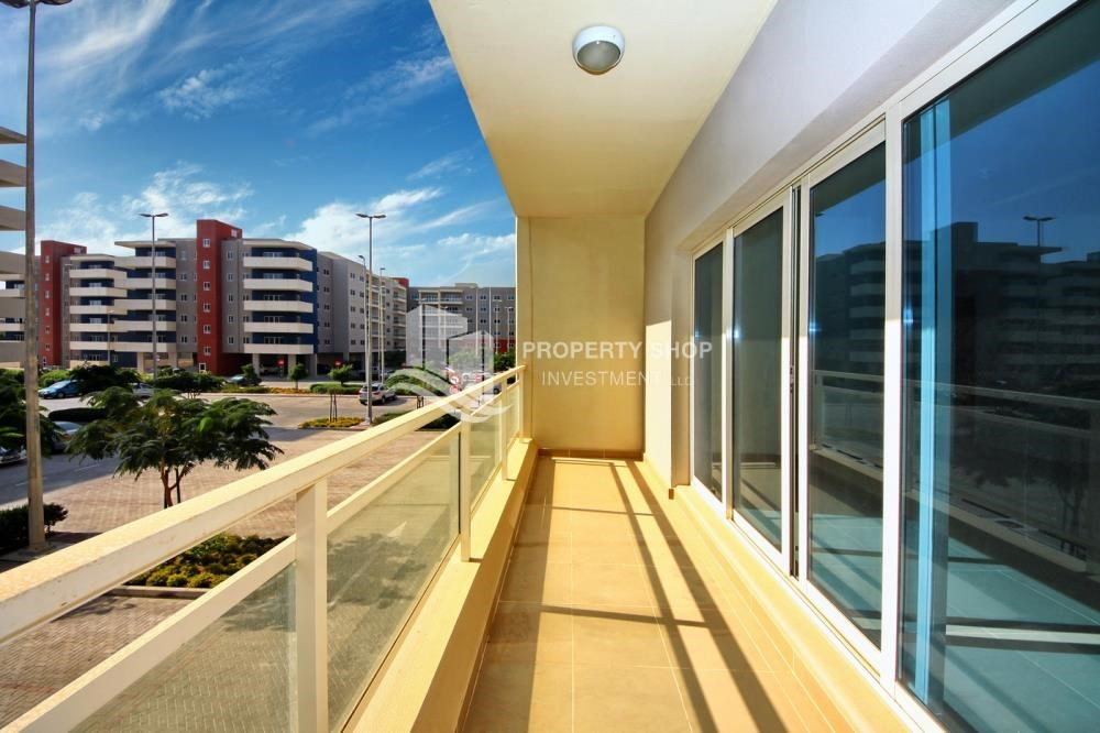 Balcony - 2BR in Alreef Downtown available for sale!!