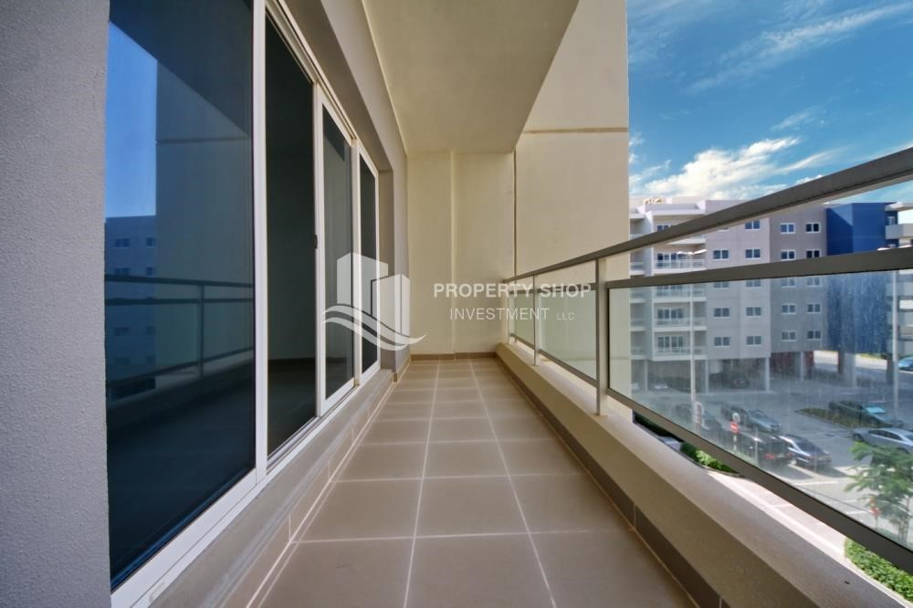 Balcony - Ideal 1 Bedroom apartment in Al Reef DownTown