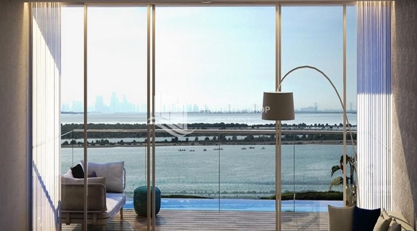 Balcony-Off-plan! Own a stylish 1BR apartment in a luxurious community in Mayan, Yas Island.