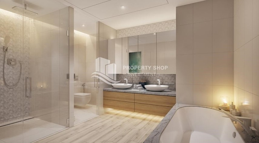 Bathroom-Off-plan! Own a stylish 1BR apartment in a luxurious community in Mayan, Yas Island.