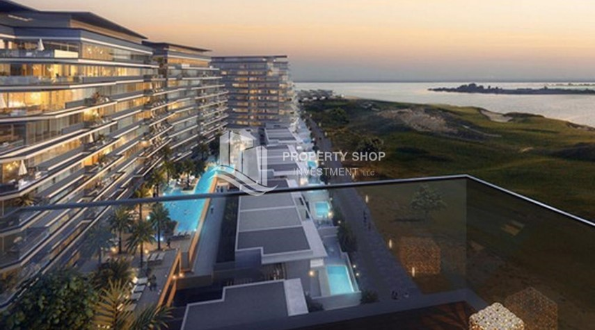 Community-Off-plan! Own a stylish 1BR apartment in a luxurious community in Mayan, Yas Island.