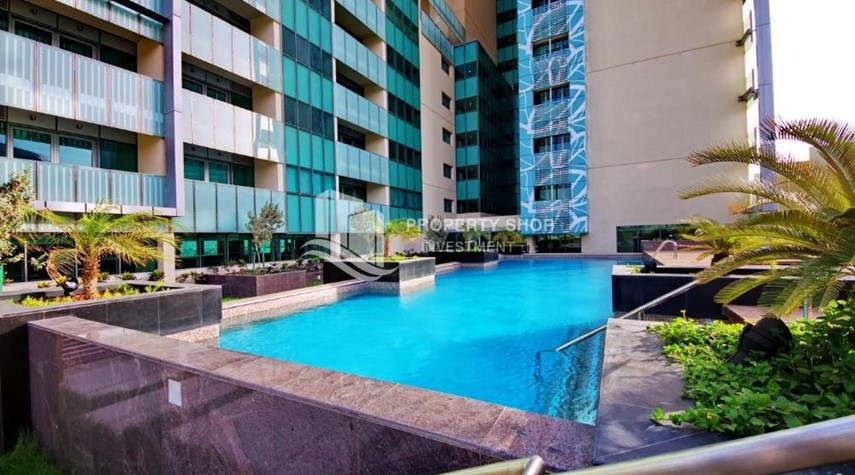 Facilities-High ROI!.Huge 2BR Apartment on high floor with great facilities