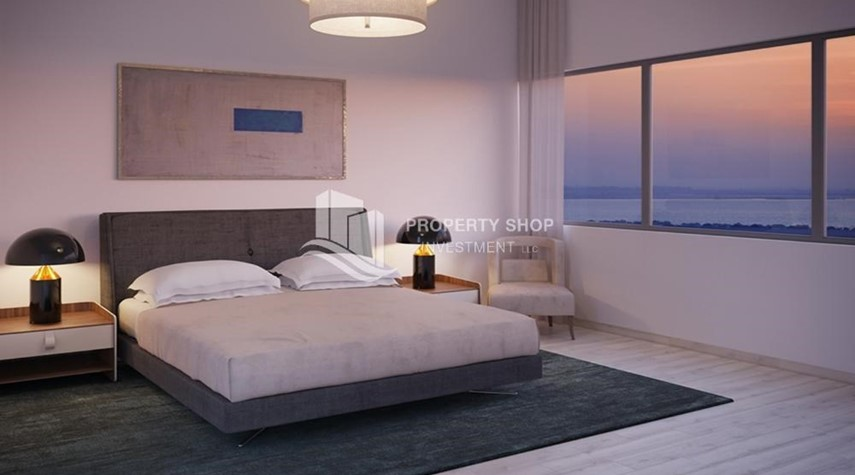 Bedroom-Get a chance to own a property in a luxurious community in Mayan, Yas Island.
