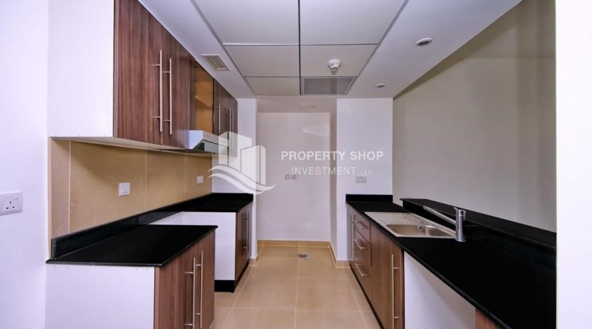 Kitchen-vacant |1BR APT Type G with terrace for sale