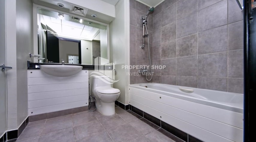 Bathroom-vacant |1BR APT Type G with terrace for sale